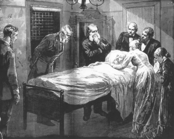 President James Garlfield under the medical stewardship of Dr. Willard Bliss lingered for 80 days while the doctors incessantly probed and poked with unwashed hands and instruments causing massive infection which was the probably cause of death from what was likely a survivalable wound-- even if left untreated.