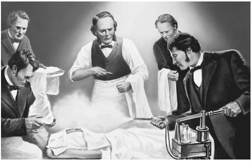 Dr. Joseph Lister was inspired by the work of Louis Pasteur. Carbolic acid was the main ingredient in his new antisepstic techniques and the statistical results were nothing short of astounding.