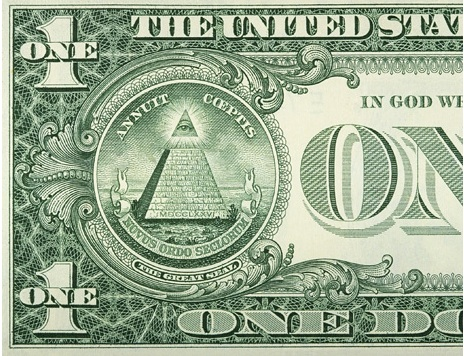 "The Seeing Eye of God and the inscripton ""Annuit Coeptis"" (Latin trans: He approves of our undertakings) first appeared in the dollar bill in 1935."